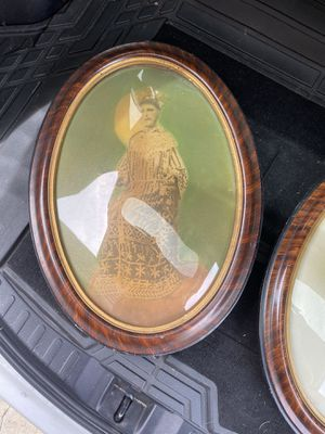 Antique oval frames curved glass for Sale in Westminster, CA