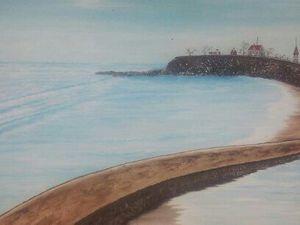 Seaside Park oil painting for Sale in Bridgeport, CT