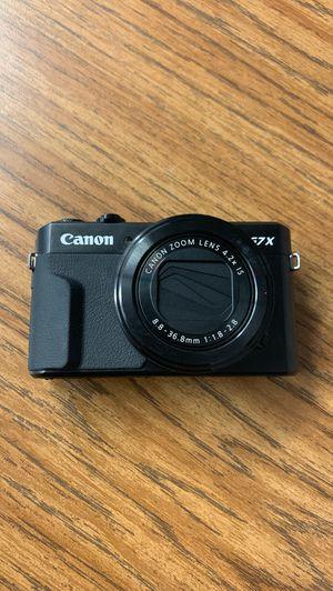 Canon Powershot G7 X Mark ii for Sale in Antioch, CA