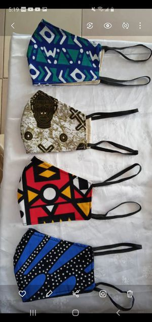 Quality unisex African print face masks - Buy 10 pieces for $65 for Sale in Baltimore, MD
