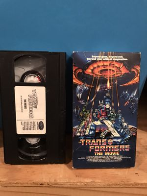 1999 Vintage The Transformers The Movie VHS for Sale in Pasadena, TX
