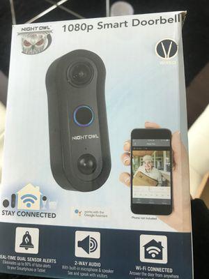 Nightowl doorbell camera for Sale in Atlanta, GA