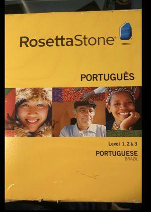 Rosetta Stone - Portuguese Level 1-3 for Sale in Miami Beach, FL