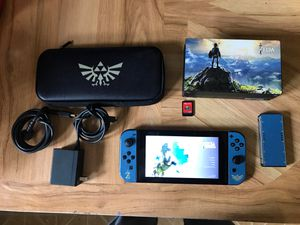 Nintendo Switch Zelda botw with Mario's odyssey for Sale in Cleveland, OH