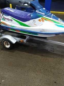 1993 Kawasaki JH750 Jet Ski With Trailer And Title $500 FIRM NOT A PENNY LESS for Sale in Cleveland,  OH