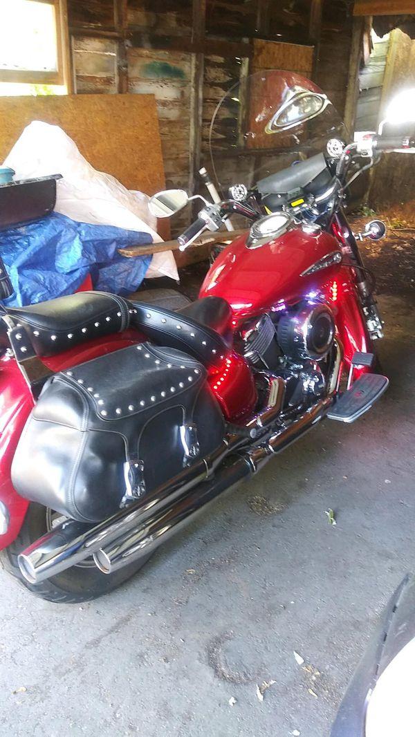Motorcycle. Yamaha V Star
