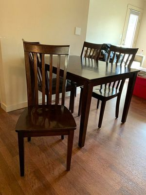 Kitchen Table with four chairs for Sale in Vancouver, WA