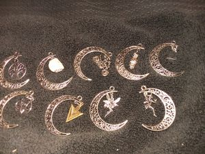 Crescent moon with charms for Sale in Wellington, KS
