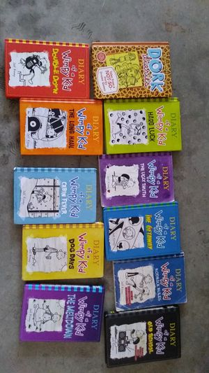 Diary of a wimpy kid books for Sale in Gilroy, CA