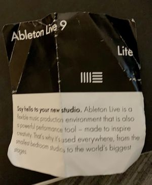 Ableton LIVE 9Lite. Access serial for Sale in Central Houghton, WA
