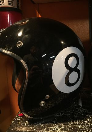 New 8 ball open face motorcycle helmet $75 for Sale in Whittier, CA