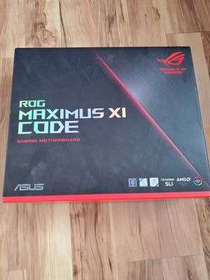 Asus Maximus Z390 Code XI for Sale in San Diego, CA