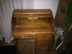 Antique roll back desk for Sale in Columbus, OH
