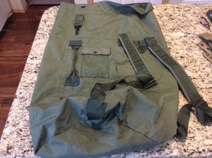 Military duffel bag for Sale in Puyallup, WA