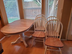 Kitchen table and chairs for Sale in Hillsboro, OR