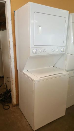 Fridgediare stackunit washer and dryer for Sale in Sterling, VA