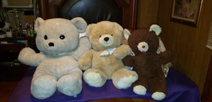 3 great big teddy bears for Sale in Piedmont, SC