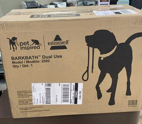 Bissell BARKBATH Dual Use Portable Dog Bath and Deep Cleaner 2592 (3rd Gen) for Sale in Warren,  MI