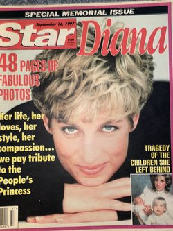 97' Star Magazine Princess Diana for Sale in Smithfield,  RI