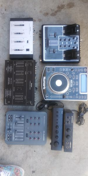 DJ pro audio mixers and sound equipment for Sale in Elk Grove, CA