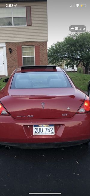 2007 Pontiac G6 GT coupe for Sale in Parkersburg, WV