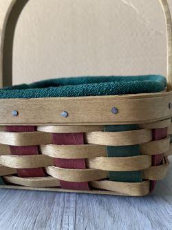 Longaberger Miniature Basket With Set Of 8 Coasters for Sale in Arlington,  VA