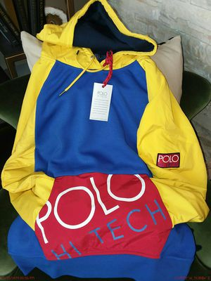 """(((((AUTHENTIC)))) NOT KNOCK OFF!!! POLÔ 'RALPH LAUREN' Heavy weight """"HIGH TECH"""" Hoodie for Sale in Washington, DC"""