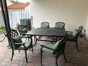 Dinning Set Outdoor furniture for Sale in Miramar, FL
