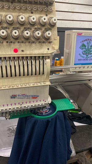 Embroidery machine swf for Sale in San Bernardino, CA