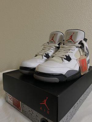Jordan 4 Retro White Cement 2012 for Sale in El Paso, TX