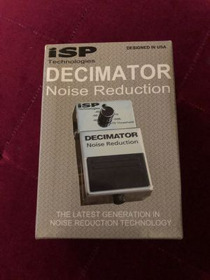 ISP Technologies Decimator Noose Reduction Pedal. New in box for Sale in Arcadia, CA