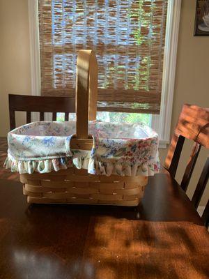 Longaberger- Spring basket for Sale in Garden Grove, CA