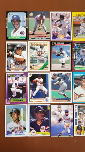 Baseball Cards - Lou Whitaker for Sale in Noblesville, IN
