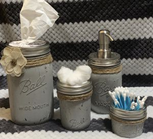 Mason Jar Bathroom Set for Sale in Pueblo, CO