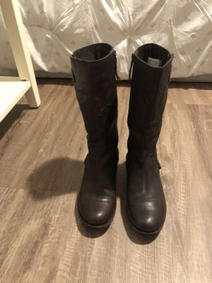 UGG Riding Boots, leather,size 8, Stout Brown for Sale in Orlando, FL