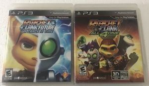 Ratchet & Clank PlayStation 3 Game Bundle for Sale in Reading, PA