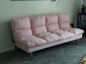 Brand NEW soft pink futon for Sale in South Jordan, UT