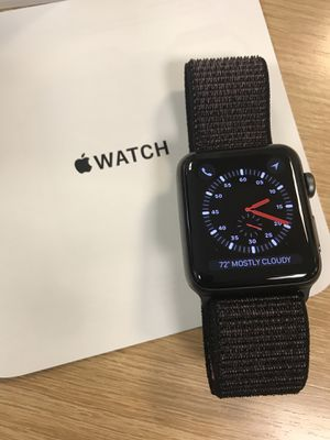 Apple iWatch Series 3 with GPS and Cellular, 42mm for Sale in Falls Church, VA