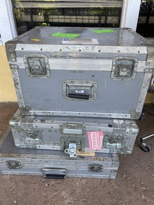 Equipment cases dj or camera for Sale in Anaheim, CA