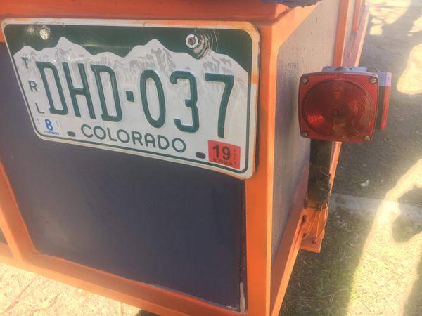 Utility trailer / toy hauler w/ removable rear