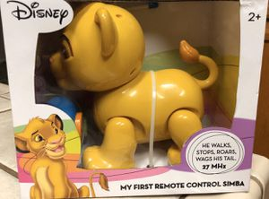 Disney The Lion King My First Remote Control Simba Children's Toy (New in Box) for Sale in Visalia, CA