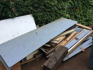 Free wood from old shed for Sale in Bellevue, WA