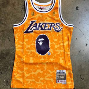 Los Angles Lakers Bape Jersey S-XXL for Sale in Houston, TX