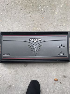 Kicker amp for Sale in Tampa, FL