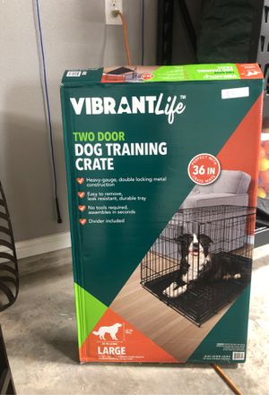 Large dog crate for Sale in Cedar Hill, TX