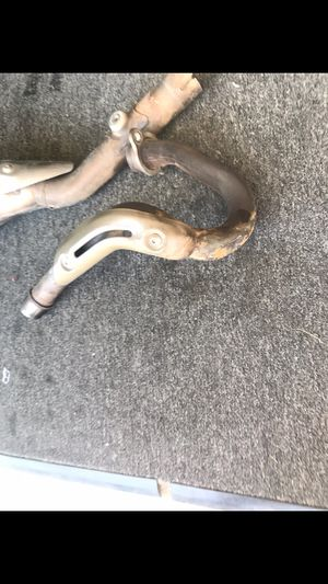 Crf450x stock pipe for Sale in Cypress, CA