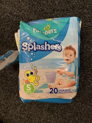 Pampers Splashers Small for Sale in Alexandria, VA