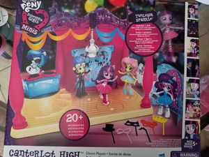 My Little Pony Equestria Girls Minis Canterlot High Dance Playset with Twilight Sparkle Doll for Sale in Glendale, AZ