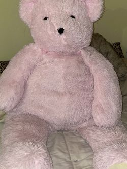 Giant Pink Plush Teddy Bear for Sale in San Jose,  CA