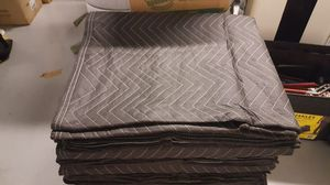 $6 Each - Brand New Professional Moving Blankets, 35lbs Per Dozen, Blue And Black, 72 By 82 for Sale in Chelan, WA